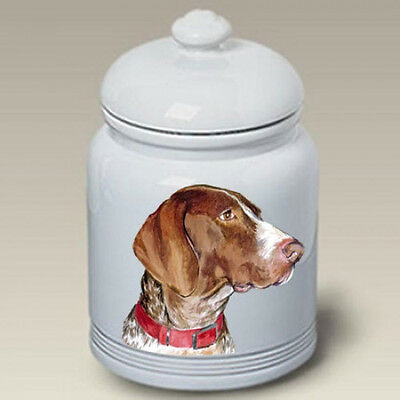 Ceramic Treat Cookie Jar - German Shorthaired Pointer (BVV) 23049