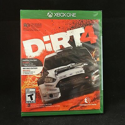 dirt 4 microsoft xbox one 2017 cad picclick ca. Black Bedroom Furniture Sets. Home Design Ideas
