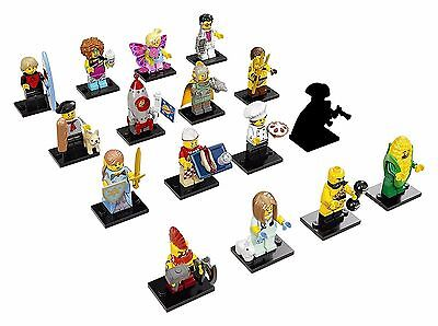 LEGO Series 17 COMPLETE SET OF 16 MINIFIGURES 71018 NEW