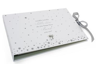 Twinkle Twinkle Little Star Baby Keepsake Journal Record Book CG1426