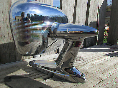 1950's/1960's SIDE VIEW MIRROR/M982/FORD ?/HOT RAT ROD CUSTOM/STRIPPED CHROME