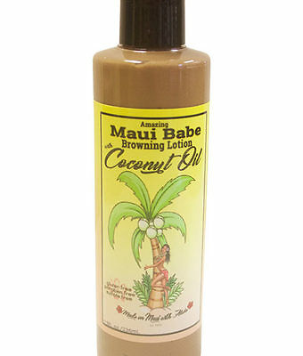 Maui Babe Browning Lotion with Coconut Oil 8 oz (236ml)