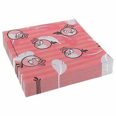 20pcs Angry Birds Paper Napkins 33cm 2ply Birthday Party Tableware
