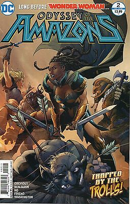 Wonder Woman Odyssey Of The Amazons #2 (NM) `17 Grevioux/ Benjamin
