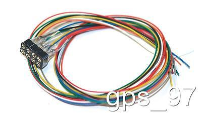 All Scales ESU 51950 Wire Harness  8-pin plug according to NEM 652, 300mm - New