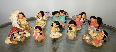 Vtg Friends of the Feather Enesco Karen Hahn Designer lot of 10 pieces from 1994