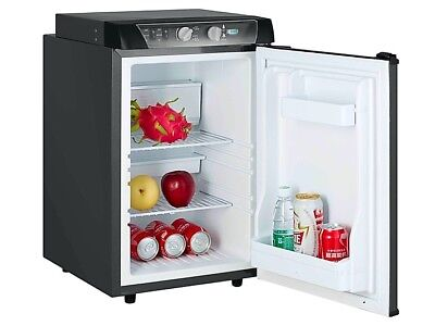 Caravan Motorhome Leisure 3 Way Absorption fridge 43 Litre New Black