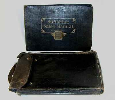 1926 Loose-Wiles Biscuit Company KC Missouri Sunshine Sales Manual Leather Bound