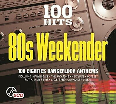 Various Artists - 100 Hits 80s Weekender - Various Artists CD VCVG The Cheap The