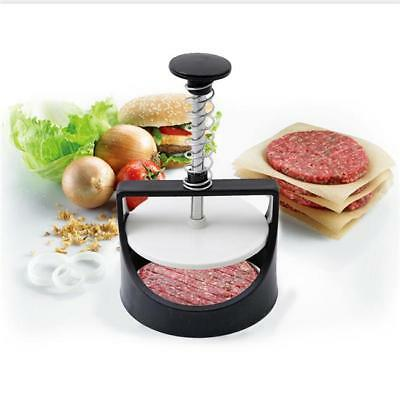 Stuffed Burger Press Hamburger Patty Maker and Sliders Non-Stick Plastic NEW Y2
