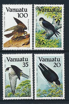 1985 Vanuatu Audubon Birds Set Of 4 Fine Mint Mnh/muh