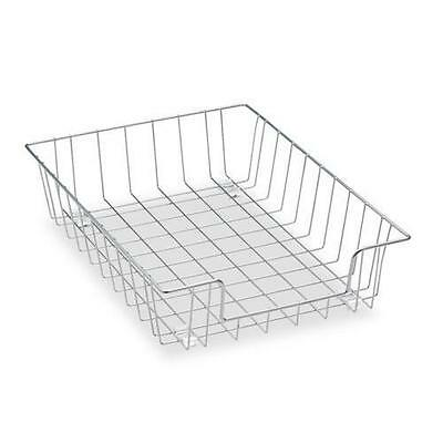 Fellowes 60012 Workstation Letter Desk Tray Organizer, Wire, Silver