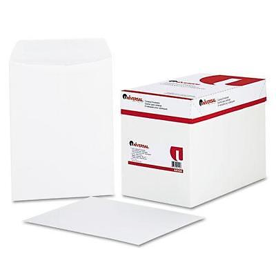 Universal 44104 Catalog Envelope, Side Seam, 9 x 12, White, 250/Box