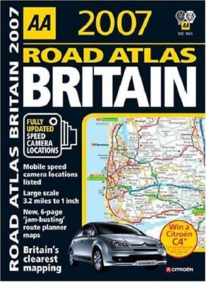AA Road Atlas Britain 2007 (AA Road Atlases) Spiral bound Book The Cheap Fast