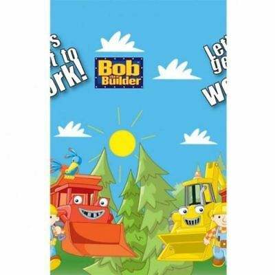 Amscan Bob The Builder TableCover 137Cm x 259Cm