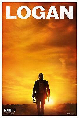 "Marvel LOGAN 2017 Advance Teaser Version B DS 2 Sided 27x40"" US Movie Poster"