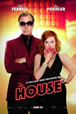 "THE HOUSE 2017 Original DS 2 Sided 27x40"" US Movie Poster Will Ferrell A Poehler"