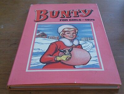 Bunty Annual 1975 In Dustwrapper