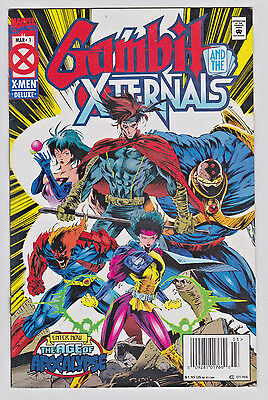 Gambit and the Externals #1 & 3 Lot 1995 Marvel Age of Apocalypse Jubilee