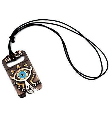 The Legend of Zelda Sheikah Slate Necklace Breath of the Wild Pendant Cosplay ☆