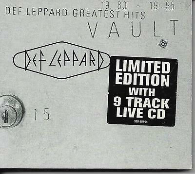 DEF LEPPARD - Vault: Greatest Hits 1980-1995 (LIMITED 2 X CD) 16TR Slipcase 1995