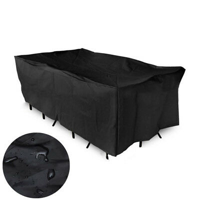 Waterproof Outdoor Patio Chaise Sofa Lounge Chair Furniture Cover BBQ Protector