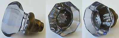 BEAUTIFUL antique SUN COLORED PURPLE glass door knob FUNCTIONAL and EXCELLENT