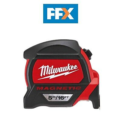 Milwaukee 48227216 5m/16ft Premium Magnetic Tape Measure