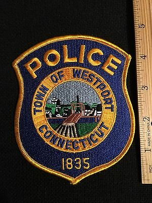 Westport  Connectut  Police Shoulder  Patch