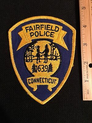 Fairield  Connectut  Police Shoulder  Patch