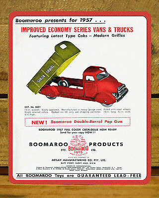 Boomaroo For 1957.......mdf Display, Advert, Sign, Backdrop