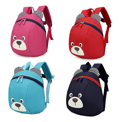 Cartoon Toddler Baby Kids Oxford Backpack Small Animal Shoulder Bag Schoolbag HQ