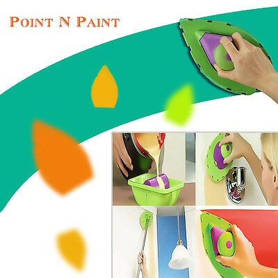 Paint Roller Tray Kit Household Decorative Painting Brush Point Paint Pad Tool