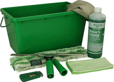UNGER Ergotec Set Up Window Cleaning Kit