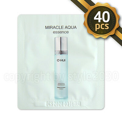 [O HUI] Miracle Aqua Essence 1ml x 40pcs (40ml) Moisturizers Hydrating OHUI