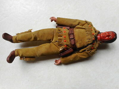 Vintage 1970'S 70's 1973 Action Figure TONTO the lone ranger SERIES COLLECTION