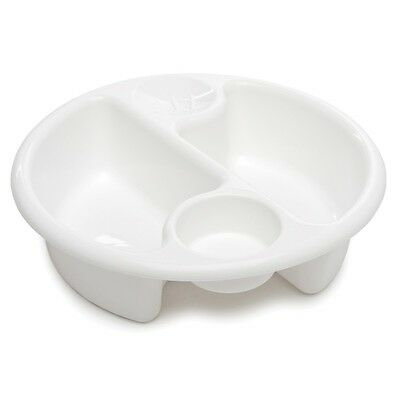 The Neat Nursery - Top 'n' Tail Circular Wash Bowl - White