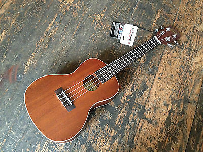 Kala KA-C Mahogany Concert Ukulele Fitted with Aquila Strings