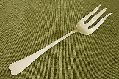 Reed & Barton silverplate oversized SERVING FORK 11 3/8""
