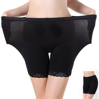 Thboxs Women Underwear Lace Borders Plus Size Safety Shorts Pants Leggings