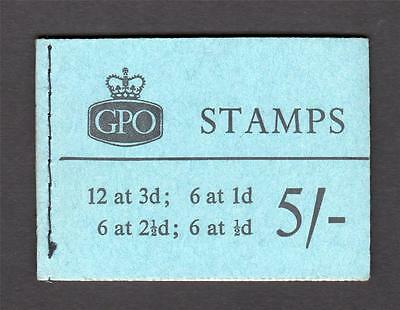 5/- GRAPHITE BOOKLET JULY 1959 Cat £150