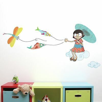 Harriet Bee Cecelia Over the Clouds Wall Sticker/Decal
