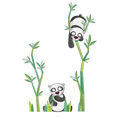Harriet Bee Cecelia Panda's Meal Wall Sticker/Decal