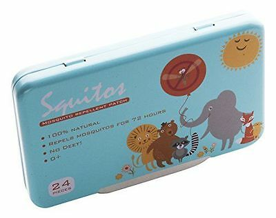 SQ Companie - companie anti-moustiques Patch - - [Squitos] [Multicolore] NEUF