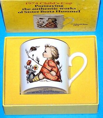 "Vintage Schmid Bros. ""1974 Child's Cup"" - The Works Of Sister Berta Hummel, New"