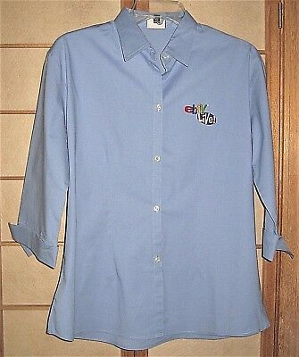 2003 eBay Live Orlando Powder Blue Women's Large Shirt-3 Quarters Sleeves(Staff)