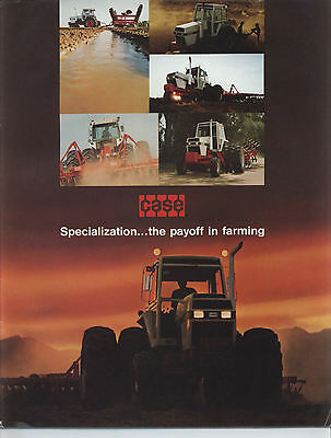 1979 JI CASE Buyers Guide Brochure 90 Series Tractors Plows Disks Skid Steer