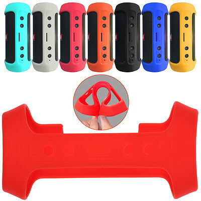 Silicone Cover Strap Case Bag Protect For JBL Charge 2 + Plus Bluetooth Speaker