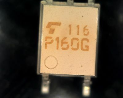 5 Toshiba TLP160G triac opto-coupler SMD SO4 P160G