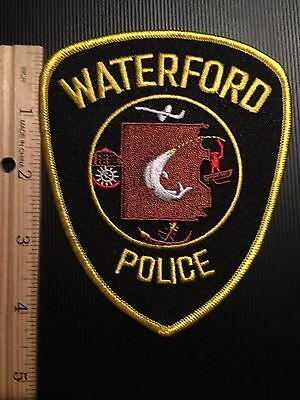 Waterford Michigan Police  Shoulder Patch